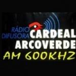 Logo da emissora Rádio Cardeal 600 AM
