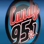 Logo da emissora KNDE 95.1 FM