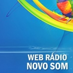 Logo da emissora Web Rádio Novo Som