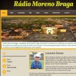 Logo da emissora R�dio Moreno Braga 1470 AM