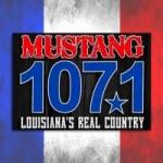 Logo da emissora Radio KOGM Mustang 107.1 FM
