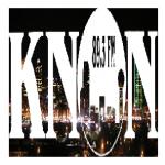 Logo da emissora KNON 89.3 FM