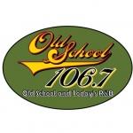 Logo da emissora Radio KMEZ Old School 106.7 FM