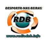 Logo da emissora Rádio Desporto nas Beiras