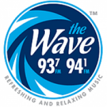 Logo da emissora Radio WRMO The Wave 93.7 FM