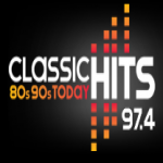 Logo da emissora Radio Classic Hits 97.4 FM
