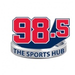 Logo da emissora Radio WBZ The Sports Hub 98.5 FM