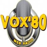 Logo da emissora Rádio Vox 80