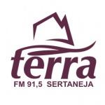 Logo da emissora Rádio Terra 91.5 FM