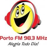 Logo da emissora Rádio Porto 98.3 FM