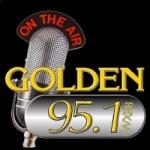 Logo da emissora Radio WXRB Golden 95.1 FM