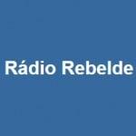 Logo da emissora Rádio Rebelde