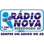 Logo da emissora R�dio Nova Bebedouro 1180 AM