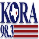Logo da emissora KORA 98.3 FM