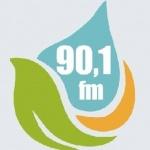 Logo da emissora R�dio L�der 90.1 FM