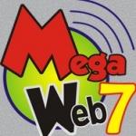 Logo da emissora Rádio Mega Web 7