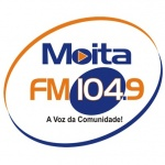 Logo da emissora Rádio Moita FM 104.9