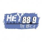 Logo da emissora WHEY 88.9 FM Hey