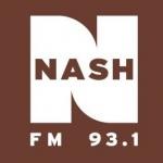 Logo da emissora WDRQ 93.1 FM Nash