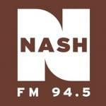 Logo da emissora WTNR 94.5 FM Nash