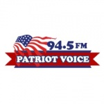 Logo da emissora WYPV 94.5 FM Your Patriot Voice