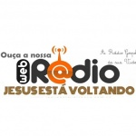 Logo da emissora Rádio Jesus Está Voltando