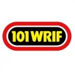 Logo da emissora WRIF 101.1 FM