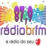 Logo da emissora RÁDIO BR 87.9 FM