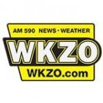 Logo da emissora WKZO 590 AM