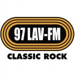 Logo da emissora WLAV 96.9 FM LAV-FM