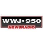 Logo da emissora WWJ 950 AM