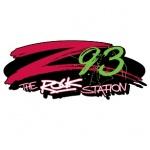 Logo da emissora WKQZ 93.3 FM The Rock Station