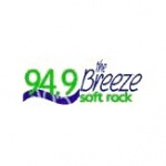 Logo da emissora KCPI 94.9 FM The Breeze