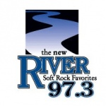 Logo da emissora KRVY 97.3 FM The River