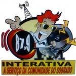 Logo da emissora Rádio Interativa Sobrado 87.9 FM