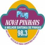 Logo da emissora R�dio Plug