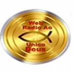 Logo da emissora Rádio Ao Único Deus