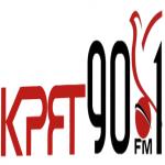 Logo da emissora KPFT 90.1 FM