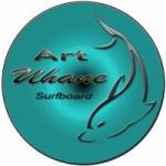 Logo da emissora Art Uhane Surfboard
