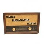 Logo da emissora Rádio Maranatha 102.3 FM