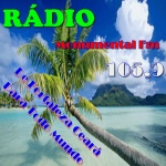 Logo da emissora Rádio Monumental 105.9 FM