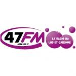 Logo da emissora 47 FM 87.7 FM