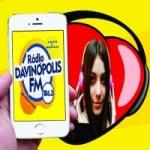 Logo da emissora R�dio Davin�polis 106.3 FM