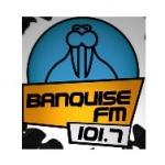 Logo da emissora Banquise 101.7 FM