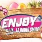 Logo da emissora Enjoy 33 92.6 FM