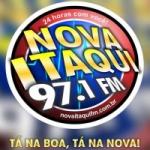 Logo da emissora R�dio Nova Itaqui FM 97.1