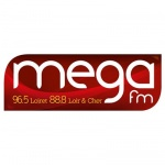 Logo da emissora Mega 96.5 FM