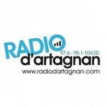 Logo da emissora D'Artagnan 97.6 FM