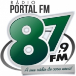 Logo da emissora R�dio Portal 87.9  FM