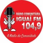 Logo da emissora Rádio Iguaí 104.9 FM
